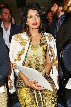 M.I.A. Absolutely gorgeous. Can't believe I never noticed her