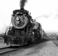 """""""CN 3254 Departure"""" by searchlight557 #flickr #bw"""