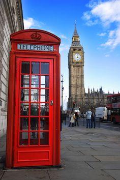 I want to go again! ! London Telephone Box, Big Ben, Europe Travel - Avoya Travel's Daily Escape