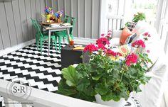 Summer front porch