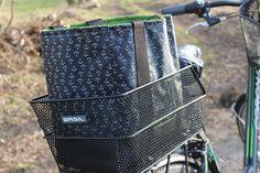 Lillys kleine Gartenwelt: DIY Fahrradkorb-Tasche
