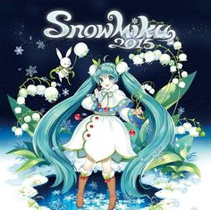 """SNOW MIKU 2015 Theme Song Released  On December 5, 2014, Crypton Future Media, Inc. released the theme song of """"SNOW MIKU 2015"""" on Nico Nico Douga.   Snow Fairy Story http://www.nicovideo.jp/watch/1417765625 Music composed by 40m-P  Lyrics written by 40m-P  Illustration drawn by Nardack   For more information, please visit the site at the link below (written in Japanese) http://snowmiku.com/   12月5日に、クリプトン・フューチャー・メディア社がニコニコ動画上で""""SNOW MIKU 2015""""のテーマソングを発表いたしました。   VOCALOID is the registered…"""