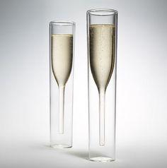unique champagne flutes. Inside Out Champagne Glasses Unique Flutes Pinterest