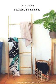 DIY Deko Bambusleiter ist super einfach zu bauen und kostet nicht einmal 5 Euro. Das klingt doch gut nicht wahr? :) Also ran ans nachmachen und deine eigene DIY Bambusleiter bauen. DIe Leiter eigent sich perfekt für die Wohnzimmerdecken oder aber auch als Kräuterleiter macht sie einiges her. Bambus deko ist gerade absolut im Trend, genauso wie leiter als deko - zurecht! :) #leiter #bambus #bambusleiter #diy #basteln #deko #wohnen #bauen #doityourself #selbermachen #deko #dekorieren #interior…