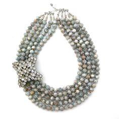 Simplest Dream Come True necklace by Elva Fields #elvafields