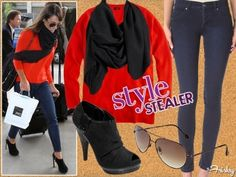 Style Stealer: Lea Michele Is Leavin On A Jet Plane