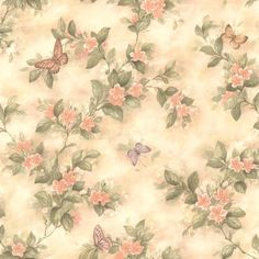 Image result for peach floral wallpaper