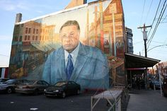 Image detail for -Mayor Frank Rizzo Mural,