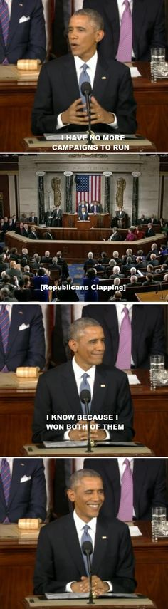 Obama trolls Congress.