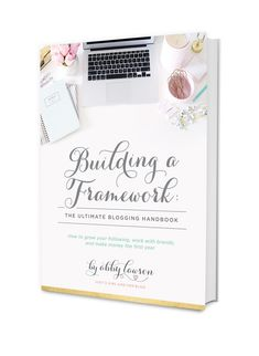 Thinking about starting a blog? Check out the newly released third edition of Building a Framework: The Ultimate Blogging Handbook! It's a course that teaches you how to set up your blog, build an email list, drive traffic to your site, grow your social media channels, work with brands, make money, and more! #aff
