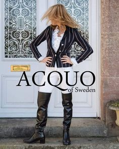 ACQUO of Sweden offer free shipping all over the world  Lexington by @ACQUOOFSWEDEN #acquogirls #swedishfashion #swedishdesign #acquoofsweden #coolboots #rubberboots #webbshop#