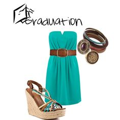 I don't understand why this says graduation on it, but I love the outfit.