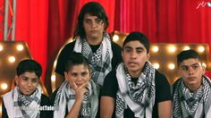 This made me cry!! The more i saw the little guy cry i did too. The have been thro so much war... I feel for them!! Gaza music school shines in 'Arabs Got Talent' spotlight