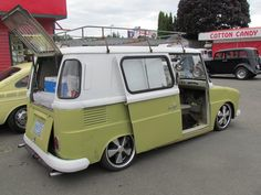 My absolute favorite VW the  Fridolin Go-Back...