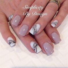 Gel Nail Art Designs, French Nail Designs, Chevron Nail Designs, Art Nails, Acrylic Nails, Abstract Nail Art, Plaid Nails, Nail Art Pictures, Chevron Nails