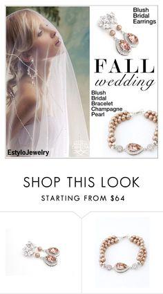 """Fall Wedding (Estylo Jewelry)"" by shambala-379 ❤ liked on Polyvore"