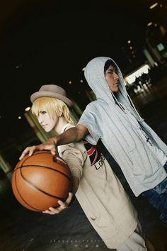 Kuroko no Basket Cosplay (Ryouta Kise and Daiki Aomine)