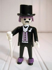 Vintage Playmobil Figure Gothic Dracula Purple Black 1974 Victorian Dollhouse | eBay    @J Smith - have you seen this?! There's a Victorian house that goes with. I just shit my pants.