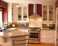 narrow wall cabinet for kitchen