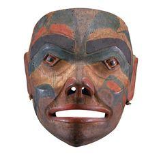 Donald Ellis Gallery- Preeminent dealer in the field of historical Native American art. Native American Masks, American Indian Art, Art Inuit, Art Premier, Native Design, Z Arts, Masks Art, Indigenous Art, Native Art