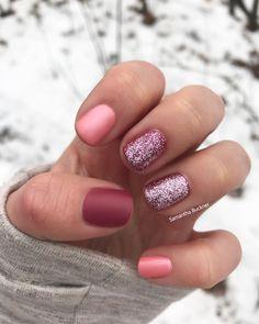 OPI: Tutti Fruitti Tonga| OPI: Matte Top Coat| Morgan Taylor: Sweetest Thing| Gelous Nail Get Coat #winter #winterfashion #nailart #nail #naildesign #nails #opi #gelnails #pretty #fashion #diy #doityourself
