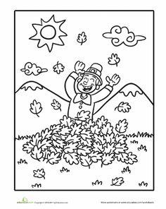 Worksheets: Pilgrim Coloring Page