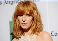 Kelly Reilly Hair red head