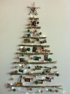 Wooden Christmas Tree Ideas Love These