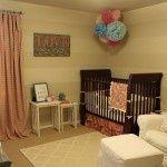 Evangeline's Nursery post from Project Nursery: Evangeline's Nursery Nursery Modern, Nursery Neutral, Nursery Art, Girl Nursery, Baby Zimmer, Project Nursery, Cribs, Kindergarten, Bed
