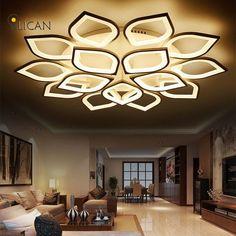 Nieuwe Acryl Moderne Plafond Verlichting voor woonkamer Slaapkamer ...