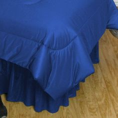 Ncaa University of Florida Bedskirt, Blue