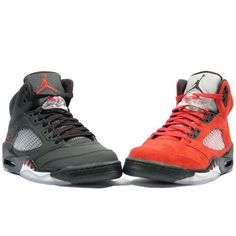 save off 2b135 0c6bb Air Jordan 5 V Retro DMP Raging Bull Wolf Grey A17004