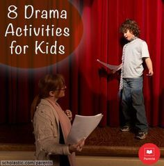 8 drama games and activities that help kids develop confidence and communication skills.