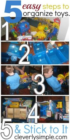 5 Easy Steps to Organize and Conquer Kids' Toys!