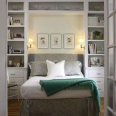 Wall bed - office / guest room