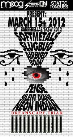 SXSW is excited to announce a collaborative showcase, brought to you by Moog synthesizers, Austin-based synth store Switched On, and Alan Palomo's (Neon Indian) Static Tongues imprint.  On Thursday, March 15th at Barbarella, Neon Indian performs alongside a lineup, largely curated by Palomo himself, focusing on underground left-field electronic Texas artists who are part of the Switched On/Static Tongues family.... http://sxsw.com/node/10222