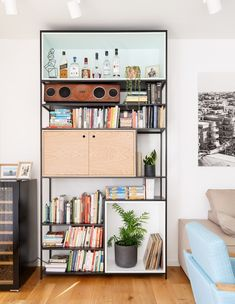 דירה בשינקין, עיצוב טל מידן להמן, ג, סלון (צילום: אורית ארנון)
