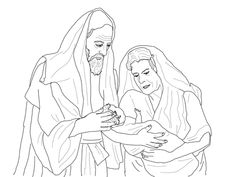 abraham sarah and their newborn son isaac coloring page from abraham category select from