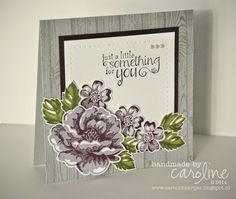 C@ro's kaartjes: Just a little something for you - Stamping and Blogging sketch 63