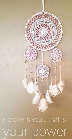 Doily Dream Catchers, Pastel Clouds, Indian Home Interior, Love Dream, Desert Rose, Pink Roses, Pretty In Pink, Bloom, Jute