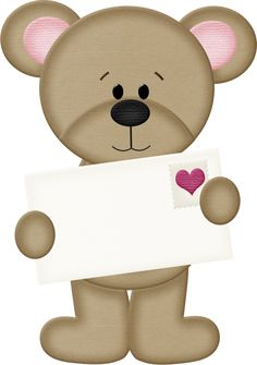 View album on Yandex. Clipart Png, Bear Clipart, Cute Clipart, Tatty Teddy, Valentines Day Teddy Bear, Clip Art, Cute Teddy Bears, Digi Stamps, Paper Piecing