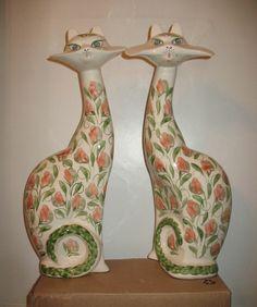 Cinque Ports Rye Pottery Cats
