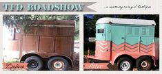 Roaming Cowgirl Boutique. Mobile boutique.  Glorified 2 horse trailer.