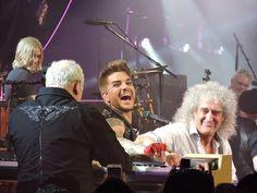 Mine too <3 RT @LambertizeMe: My fav pic of the night @adamlambert with @DrBrianMay & Spike #QueenMSG pic.twitter.com/BnXLOeXtcj