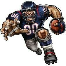 The players need the roar of the fans and nobody pumps up the crowd like your favorite team mascot! The Fathead NFL Team Mascot Wall Decal is an awesome. Houston Texans Football, Nfl Football Teams, Football Art, Nfl Sports, Football Helmets, Fantasy Football, Sports Art, Sports Logo, Football Shirts