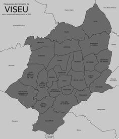 Freguesias do concelho de Viseu
