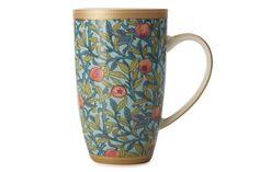 Кружка из фарфора «Птица и гранат» в подарочной упаковке      Бренд: Maxwell & Williams (Австралия);   Страна производства: Китай;   Материал: фарфор;   Коллекция: Уильям Моррис;   Объем: 0,42 л;          #tea #porcelain #фарфор #посуда #чай