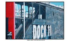 Hafen Hamburg / Dock 11 / Acryl