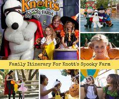 Family Itinerary To Knott's Spooky Farm