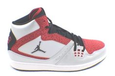 NEW NIKE Air Jordan Flight Basketball Shoes in Size 11.5 Platinum /Black Red